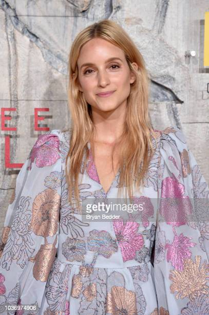 Charlotte Groeneveld attends the New York City premiere of National Geographic Documentary Films' 'Free Solo' at Jazz at Lincoln Center on September...