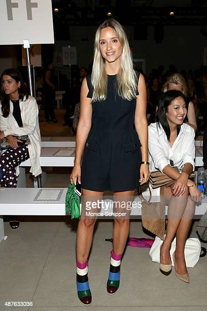 Charlotte Groeneveld attends the Ohne Titel fashion show during Spring 2016 New York Fashion Week The Shows at The Gallery Skylight at Clarkson Sq on...