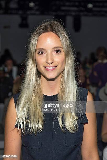Charlotte Groeneveld attends the Ohne Titel show during Spring 2016 New York Fashion Week The Shows at The Gallery Skylight at Clarkson Sq on...