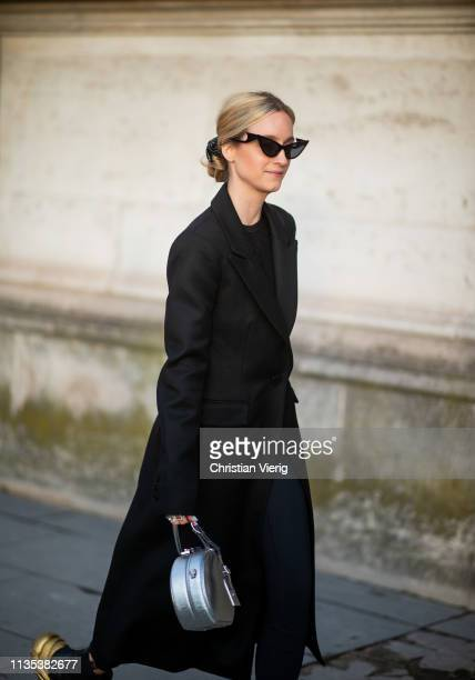 Charlotte Groeneveld is seen outside Louis Vuitton during Paris Fashion Week Womenswear Fall/Winter 2019/2020 on March 05 2019 in Paris France