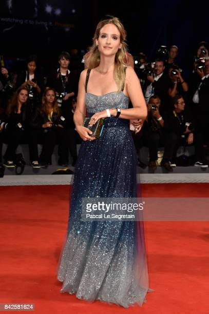 Charlotte Groeneveld walks the red carpet ahead of the 'Three Billboards Outside Ebbing Missouri' screening during the 74th Venice Film Festival at...