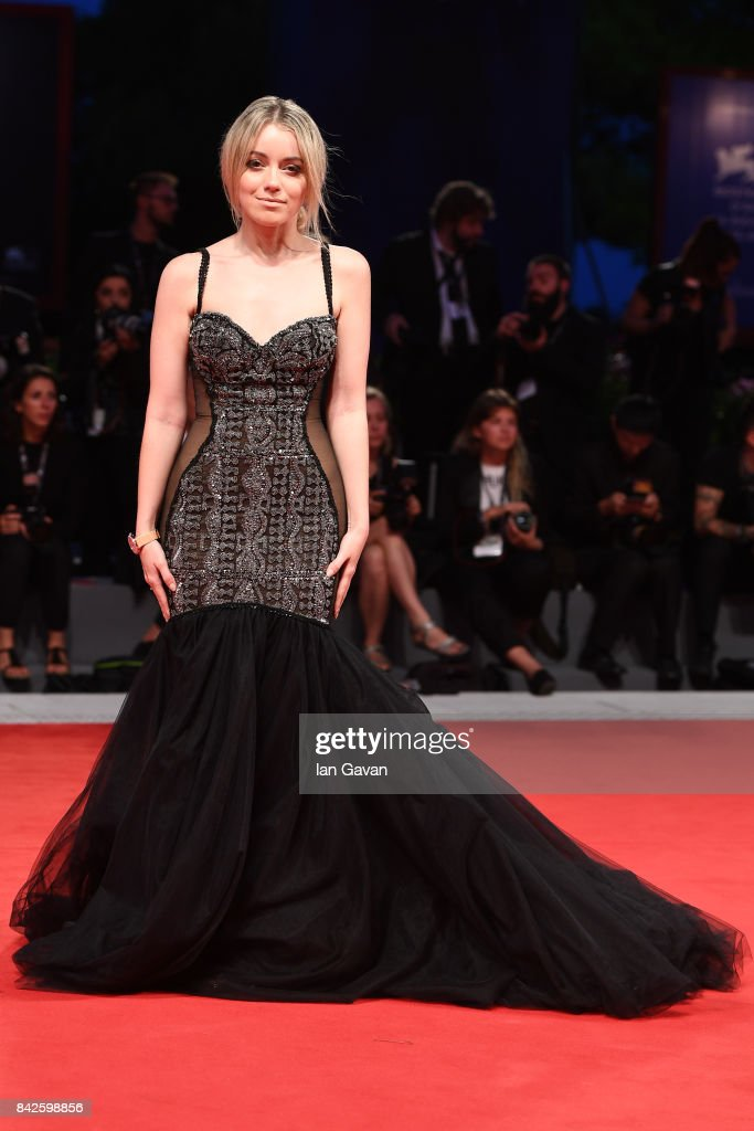 Charlotte Groeneveld walks the red carpet wearing a Jaeger-LeCoultre watch ahead of the 'Three Billboards Outside Ebbing, Missouri' screening during the 74th Venice Film Festival at Sala Grande on September 4, 2017 in Venice, Italy.
