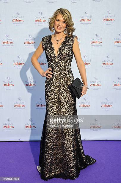 Charlotte Hawkin attends The Butterfly Ball A Sensory Experience in aid of the Caudwell Children's charity at Battersea Evolution on May 16 2013 in...