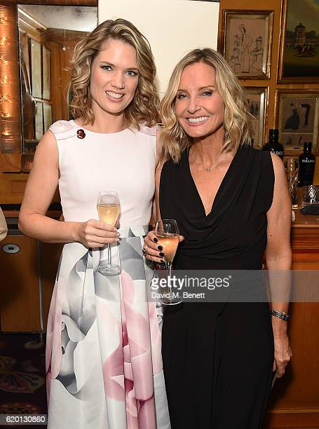 Charlotte Hawkins and Jacquie Beltrao attend a private dinner hosted by Annabel's celebrating the 125th anniversary of The Dog's Trust on November 1...