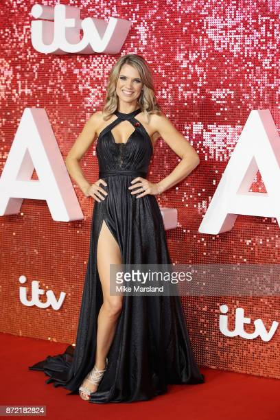 Charlotte Hawkins arrives at the ITV Gala held at the London Palladium on November 9 2017 in London England