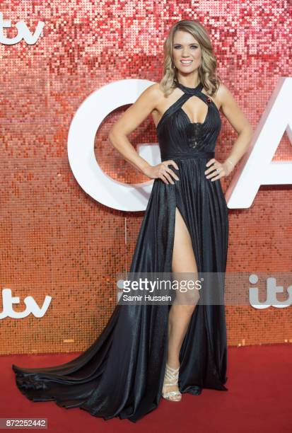 Charlotte Hawkins arriving at the ITV Gala held at the London Palladium on November 9 2017 in London England