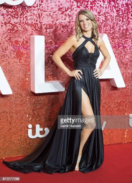 Charlotte Hawkins arriving at the ITV Gala held at the London Palladium on November 9 2017 in London England