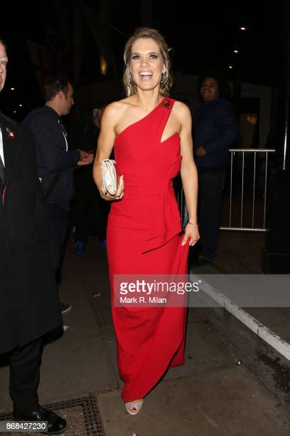 Charlotte Hawkins attending the Pride of Britain Awards on October 30 2017 in London England