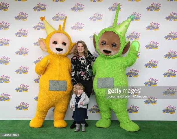 Charlotte Hawkins attending the Teletubbies 20th anniversary party at the BFI Southbank in London