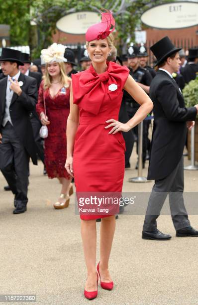 Charlotte Hawkins attends day three Ladies Day of Royal Ascot at Ascot Racecourse on June 20 2019 in Ascot England