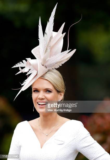 Charlotte Hawkins attends day two of Royal Ascot at Ascot Racecourse on June 19, 2019 in Ascot, England.