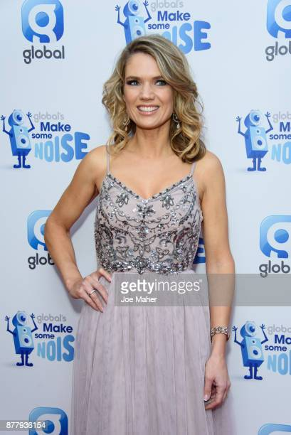 Charlotte Hawkins attends Global's Make Some Noise Night at Supernova on November 23 2017 in London England