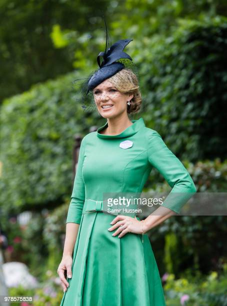 Charlotte Hawkins attends Royal Ascot Day 1 at Ascot Racecourse on June 19 2018 in Ascot United Kingdom