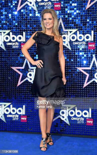 Charlotte Hawkins attends The Global Awards 2019 at Eventim Apollo Hammersmith on March 07 2019 in London England