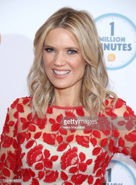 Charlotte Hawkins attends the Good Morning Britain 1 Million Minutes Awards at Studio Works on January 23, 2020 in London, England.