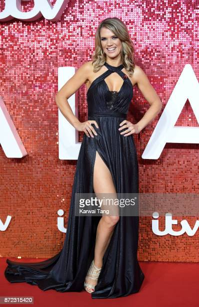 Charlotte Hawkins attends the ITV Gala at the London Palladium on November 9, 2017 in London, England.