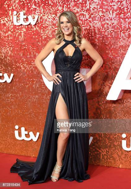 Charlotte Hawkins attends the ITV Gala at the London Palladium on November 9 2017 in London England