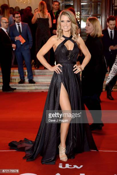 Charlotte Hawkins attends the ITV Gala held at the London Palladium on November 9 2017 in London England