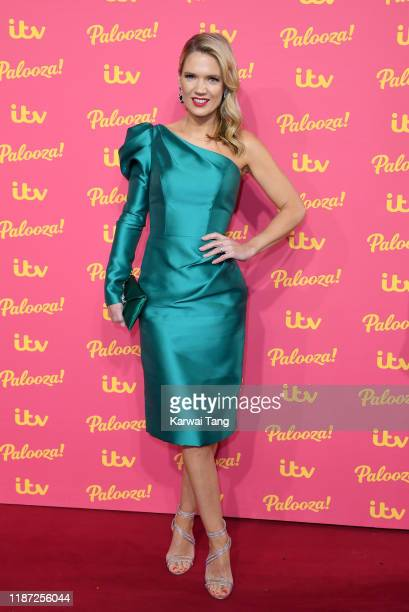 Charlotte Hawkins attends the ITV Palooza 2019 at The Royal Festival Hall on November 12, 2019 in London, England.