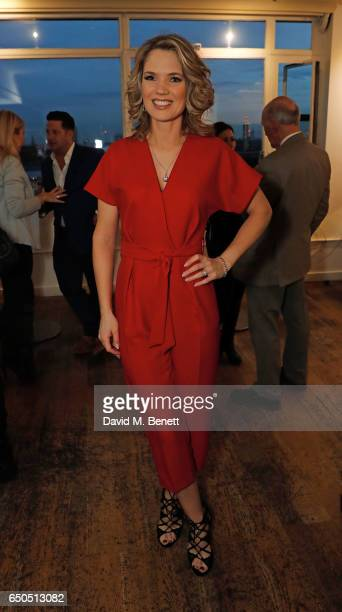 Charlotte Hawkins attends the launch of Kate Garraway's new book The Joy Of Big Knickers at Waterstones Piccadilly on March 9 2017 in London England