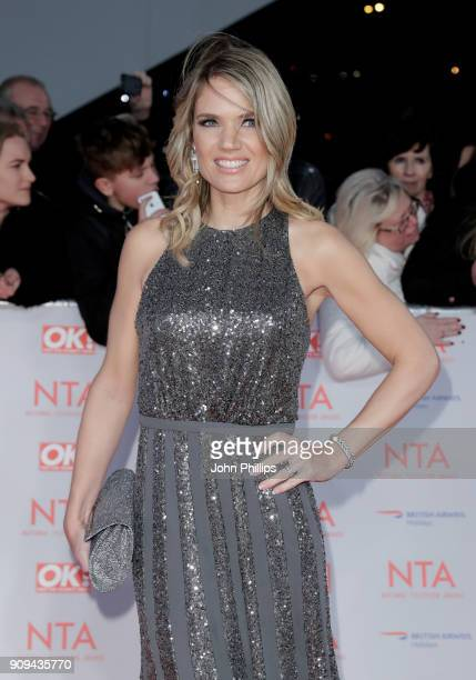 Charlotte Hawkins attends the National Television Awards 2018 at the O2 Arena on January 23 2018 in London England