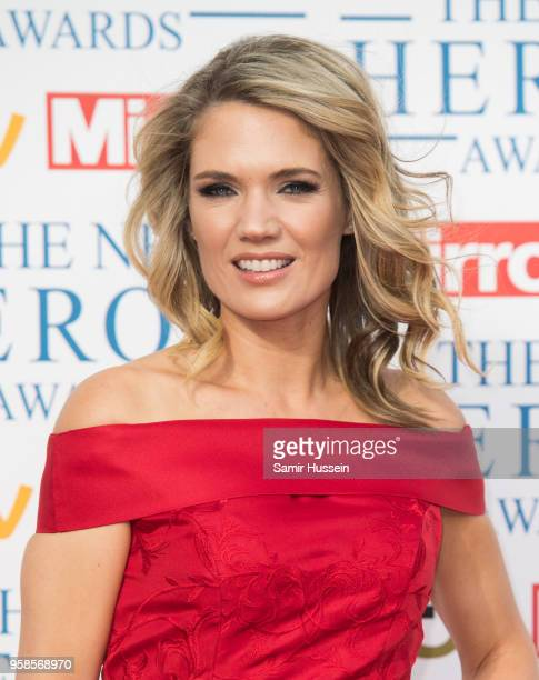 Charlotte Hawkins attends the 'NHS Heroes Awards' held at the Hilton Park Lane on May 14 2018 in London England