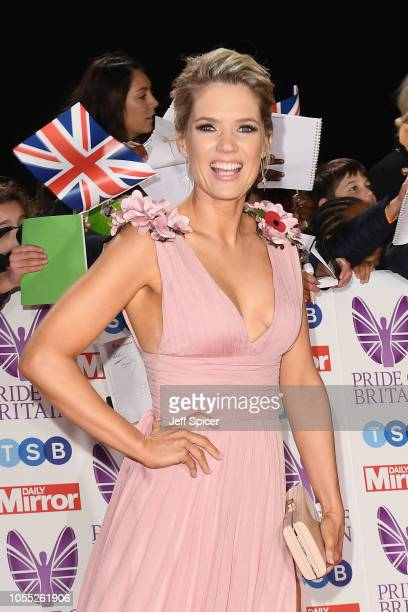 Charlotte Hawkins attends the Pride of Britain Awards 2018 at The Grosvenor House Hotel on October 29 2018 in London England