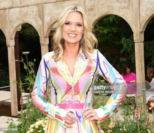 Charlotte Hawkins attends the RHS Chelsea Flower Show 2019 press day on May 20 2019 in London England