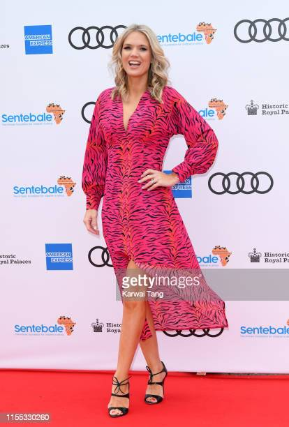 Charlotte Hawkins attends the Sentebale Audi Concert at Hampton Court Palace on June 11 2019 in London England Sentebale charity was founded by Their...