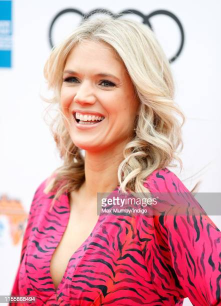 Charlotte Hawkins attends the Sentebale Audi Concert at Hampton Court Palace on June 11 2019 in London England The charity Sentebale was founded by...
