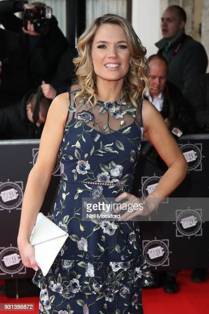 Charlotte Hawkins attends the TRIC Awards 2018 held at The Grosvenor House Hotel on March 13 2018 in London England