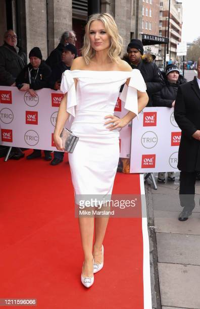 Charlotte Hawkins attends the TRIC Awards 2020 at The Grosvenor House Hotel on March 10, 2020 in London, England.