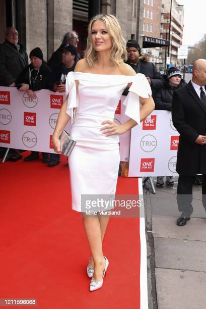 Charlotte Hawkins attends the TRIC Awards 2020 at The Grosvenor House Hotel on March 10 2020 in London England