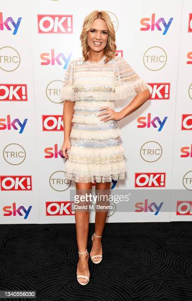 Charlotte Hawkins attends The TRIC Awards 2021 at 8 Northumberland Avenue on September 15, 2021 in London, England.