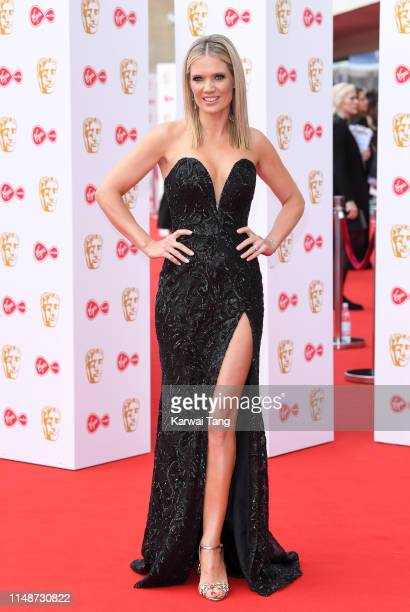 Charlotte Hawkins attends the Virgin Media British Academy Television Awards 2019 at The Royal Festival Hall on May 12 2019 in London England