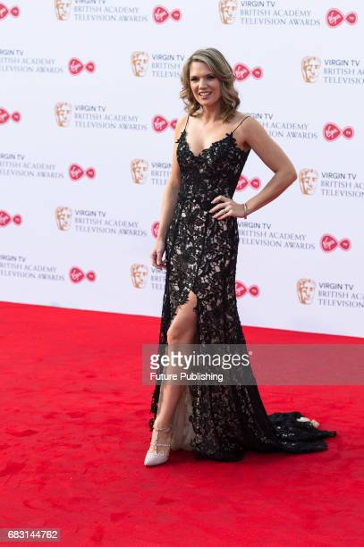 Charlotte Hawkins attends the Virgin TV British Academy Television Awards ceremony at the Royal Festival Hall on May 14 2017 in London United Kingdom...