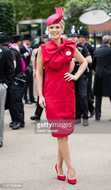Charlotte Hawkins day three, Ladies Day, of Royal Ascot at Ascot Racecourse on June 20, 2019 in Ascot, England.