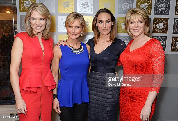 Charlotte Hawkins Jacquie Beltrao Isabel Webster and Ruth Langsford attend the TRIC Television and Radio Industries Club Awards at the Grosvenor...