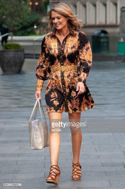 Charlotte Hawkins seen leaving Global Studios Classic FM on September 15 2020 in London England