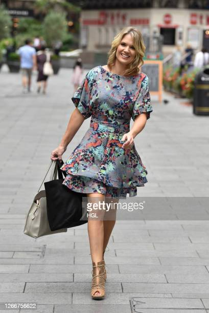 Charlotte Hawkins sighting on August 17 2020 in London England
