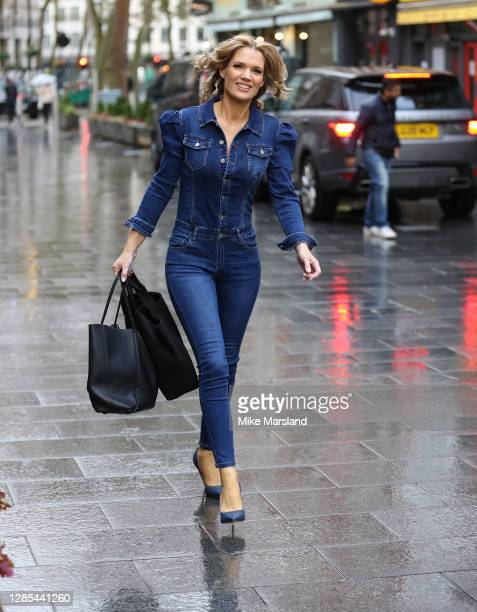 Charlotte Hawkins sighting on November 13, 2020 in London, England.