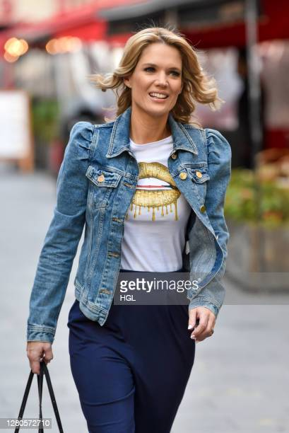 Charlotte Hawkins sighting on October 16 2020 in London England