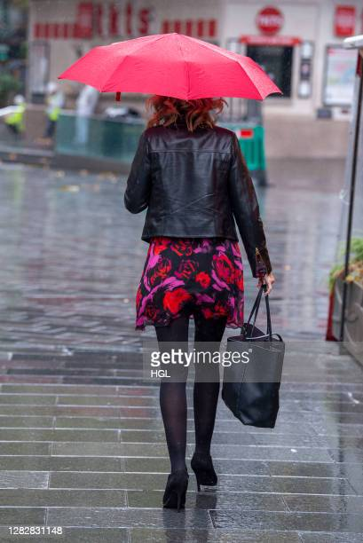 Charlotte Hawkins sighting on October 29 2020 in London England