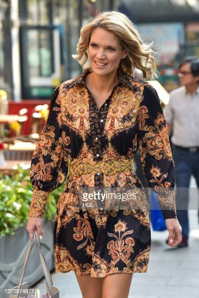 Charlotte Hawkins sighting on September 15 2020 in London England