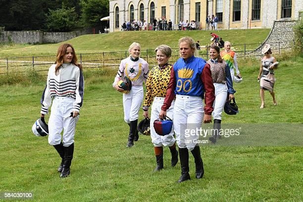 Charlotte Hogg wearing MEEM Alby Bailey wearing Jasmine Guinness Dido Harding wearing Bella Freud Isabelle Taylor wearing Jasmine Guinness Georgie...