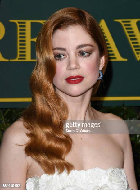 Charlotte Hope attends the London Evening Standard Theatre Awards at the Theatre Royal on December 3 2017 in London England