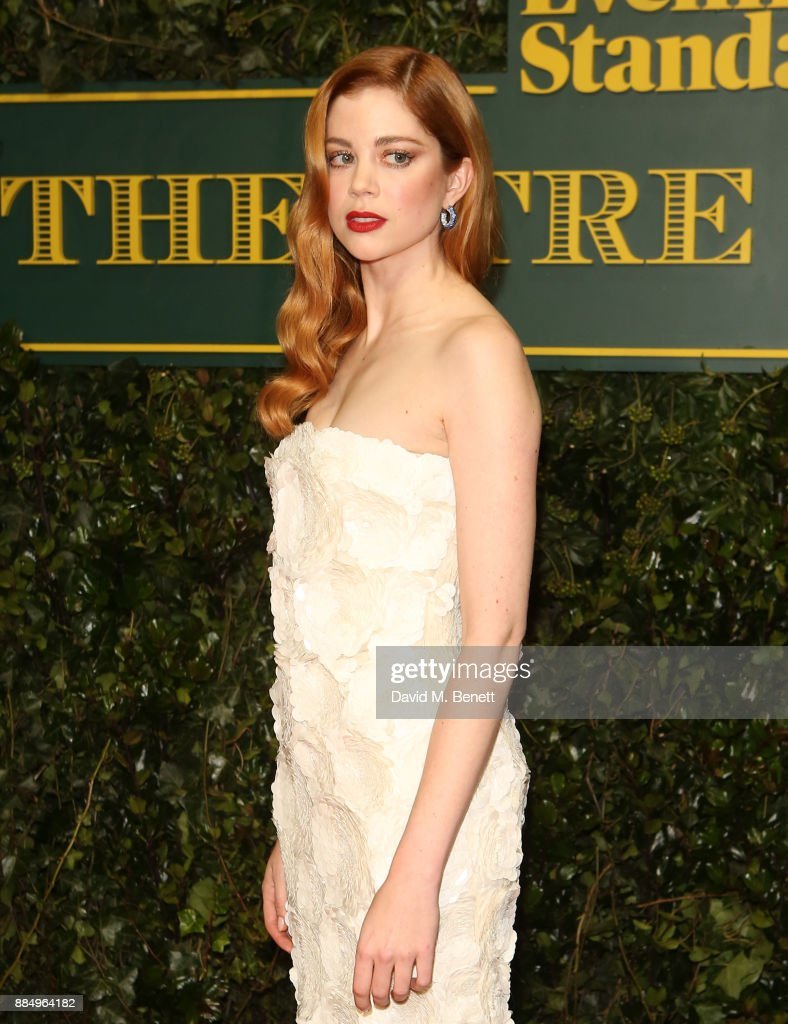 Charlotte Hope attends the London Evening Standard Theatre Awards at Theatre Royal on December 3, 2017 in London, England.