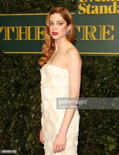 Charlotte Hope attends the London Evening Standard Theatre Awards at Theatre Royal on December 3 2017 in London England
