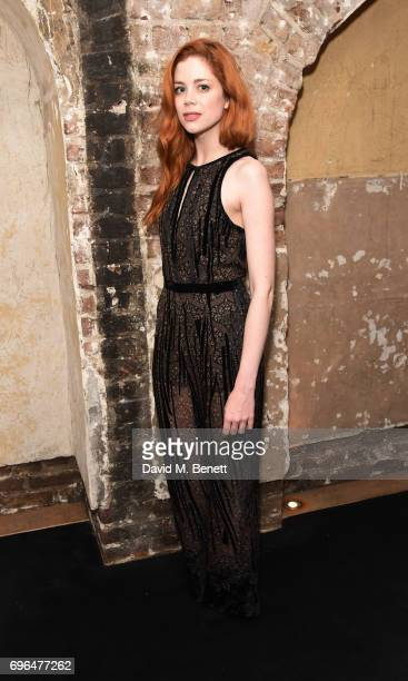 Charlotte Hope attends the press night after party for The Almeida Theatre's Hamlet playing at the Harold Pinter Theatre on June 15 2017 in London...