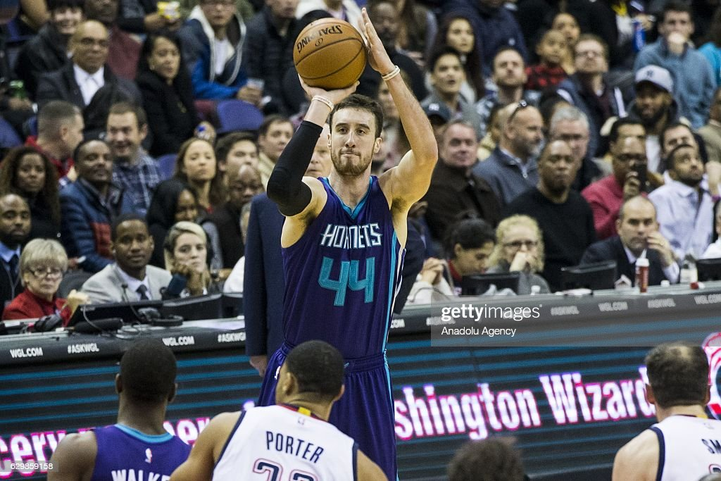 Washington Wizards vs Charlotte Hornets : News Photo